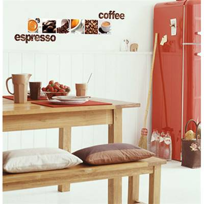 "Sticker ""COFFEE ESPRESSO LATTE"""