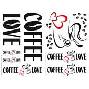 "Sticker ""COFFEE LOVE"""