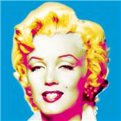 "Plexi ""Marilyn in blue"""