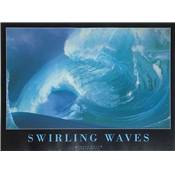 Affiche Swinling waves