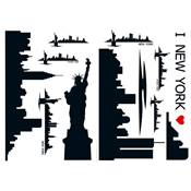 "Sticker ""NEW YORK SKYLINE"""