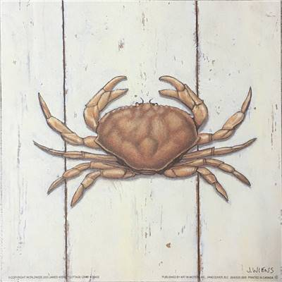 Affichette Cottage Crab - James Wiens