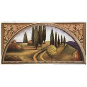 "Lot de 2 affichettes ""Autumn in Tuscany 1 & 2"""